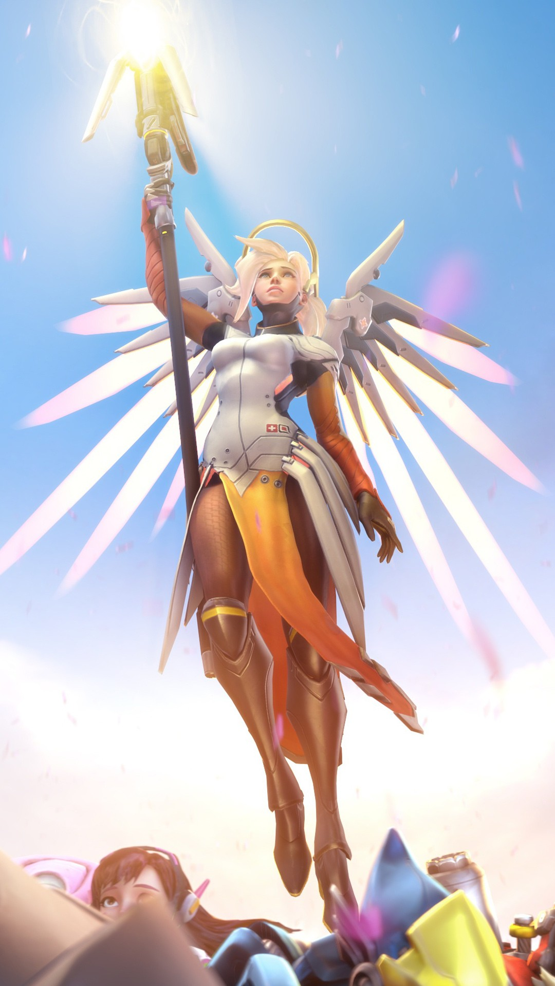 Beautiful Wallpapers For Iphone 6 Plus Overwatch Mercy 4k Wallpapers Hd Wallpapers Id 20446