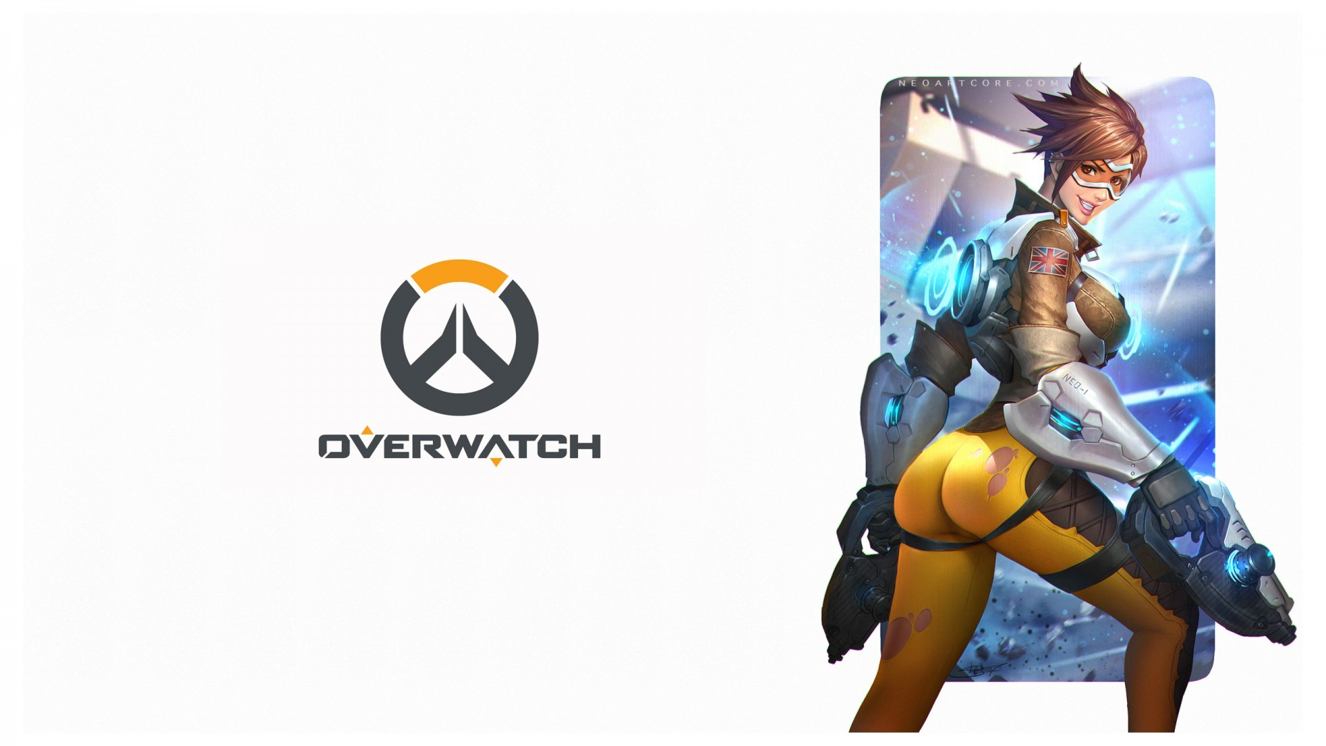 Cute Dogs Full Hd Wallpapers Overwatch Tracer Artwork Wallpapers Hd Wallpapers Id