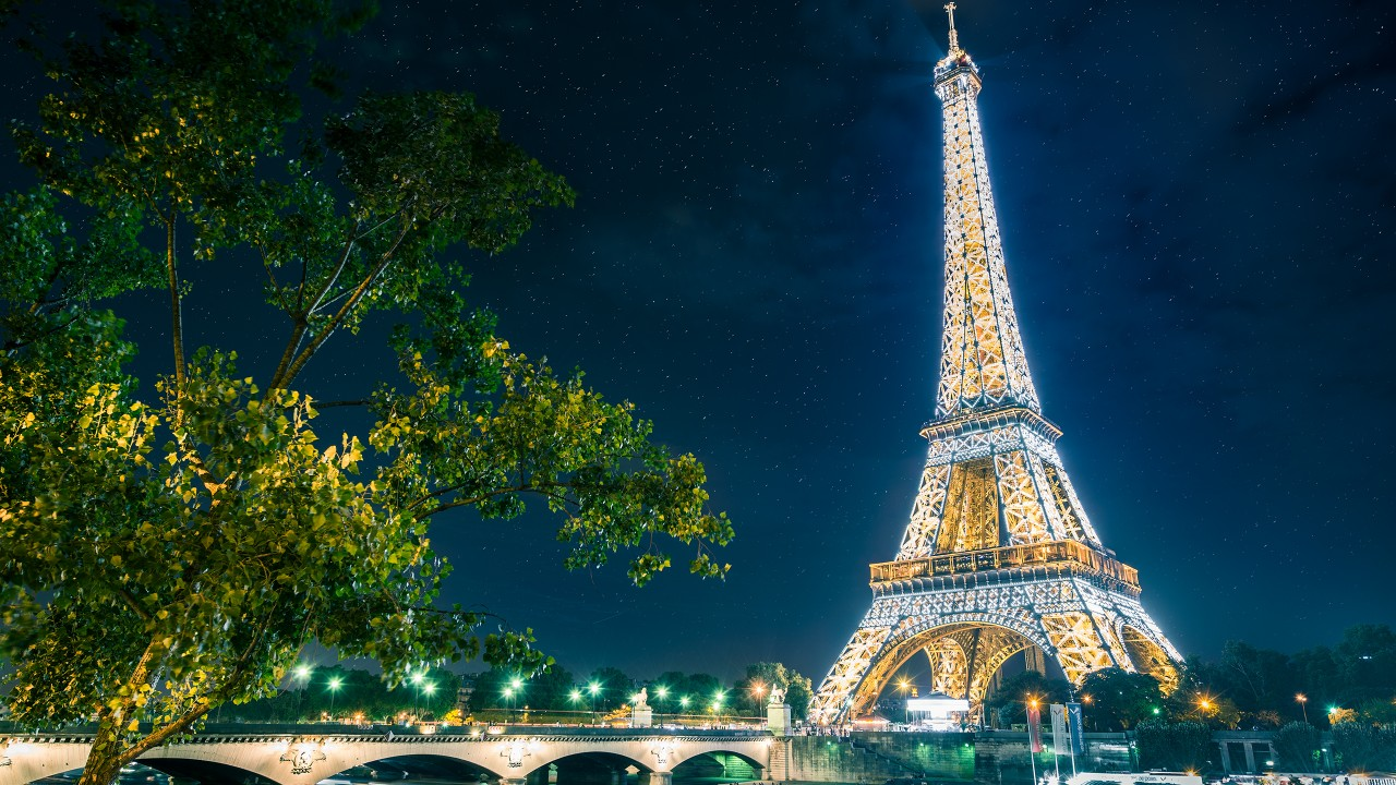 Most Cute Wallpaper Paris Eiffel Tower Wallpapers Hd Wallpapers Id 13017