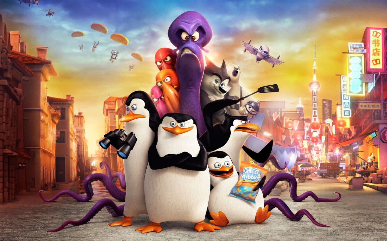 Cute Penguins Iphone Wallpaper Penguins Of Madagascar Movie Wallpapers Hd Wallpapers