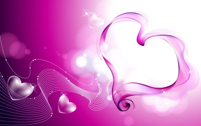 Pink Love Hearts Smoke Wallpapers | HD Wallpapers | ID #6663