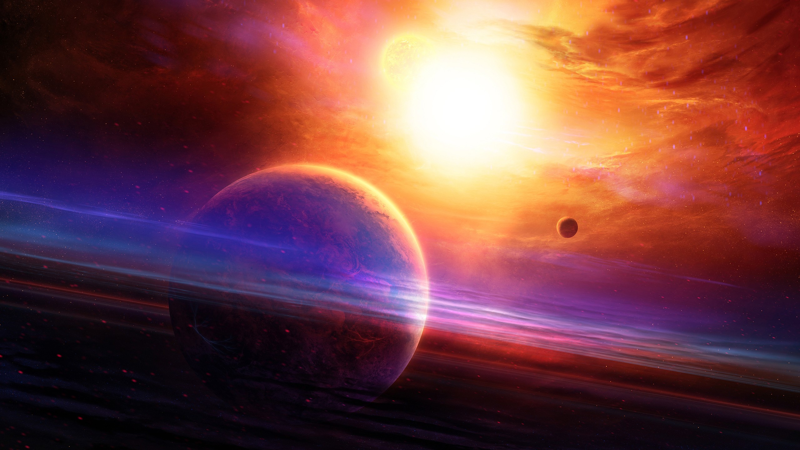Solar System 3d Wallpaper Planets Spaceart Wallpapers Hd Wallpapers Id 21990
