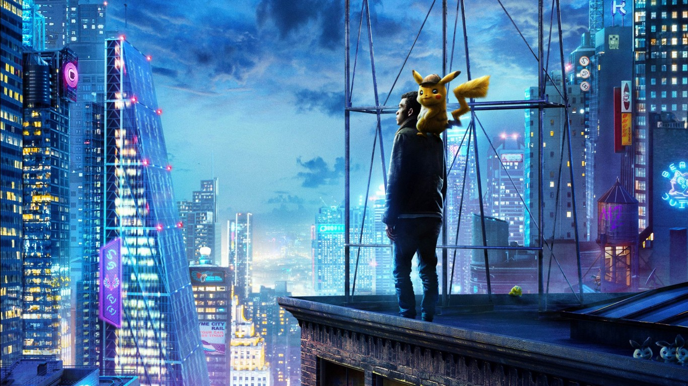Pikachu Iphone 6 Wallpaper Pok 201 Mon Detective Pikachu Wallpapers Hd Wallpapers Id