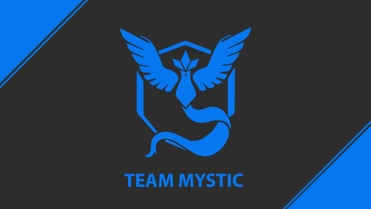 Cute Iphone 4 Wallpaper Pokemon Go Team Mystic Team Blue 4k Wallpapers Hd