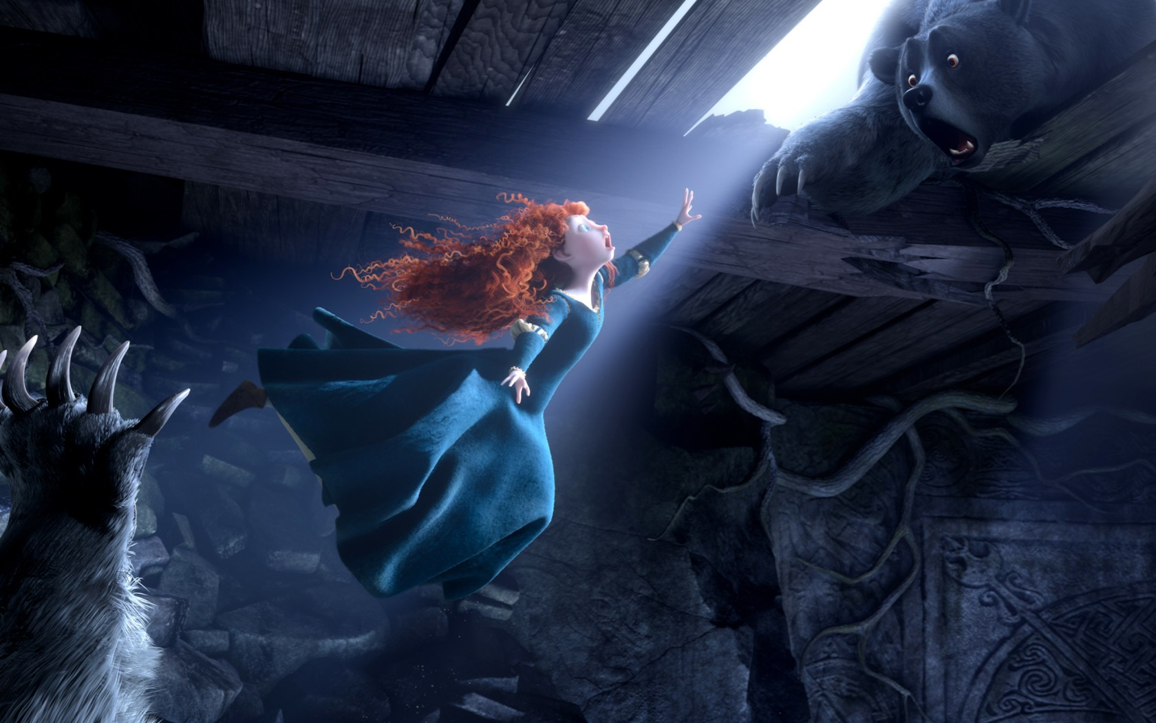 Top 10 3d Wallpapers For Android Princess Merida Brave Movie Wallpapers Hd Wallpapers