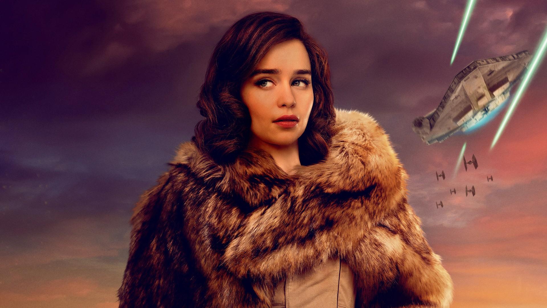 Download Apple Wallpaper Hd For Windows 7 Qi Ra Solo A Star Wars Story Emilia Clarke 4k Wallpapers