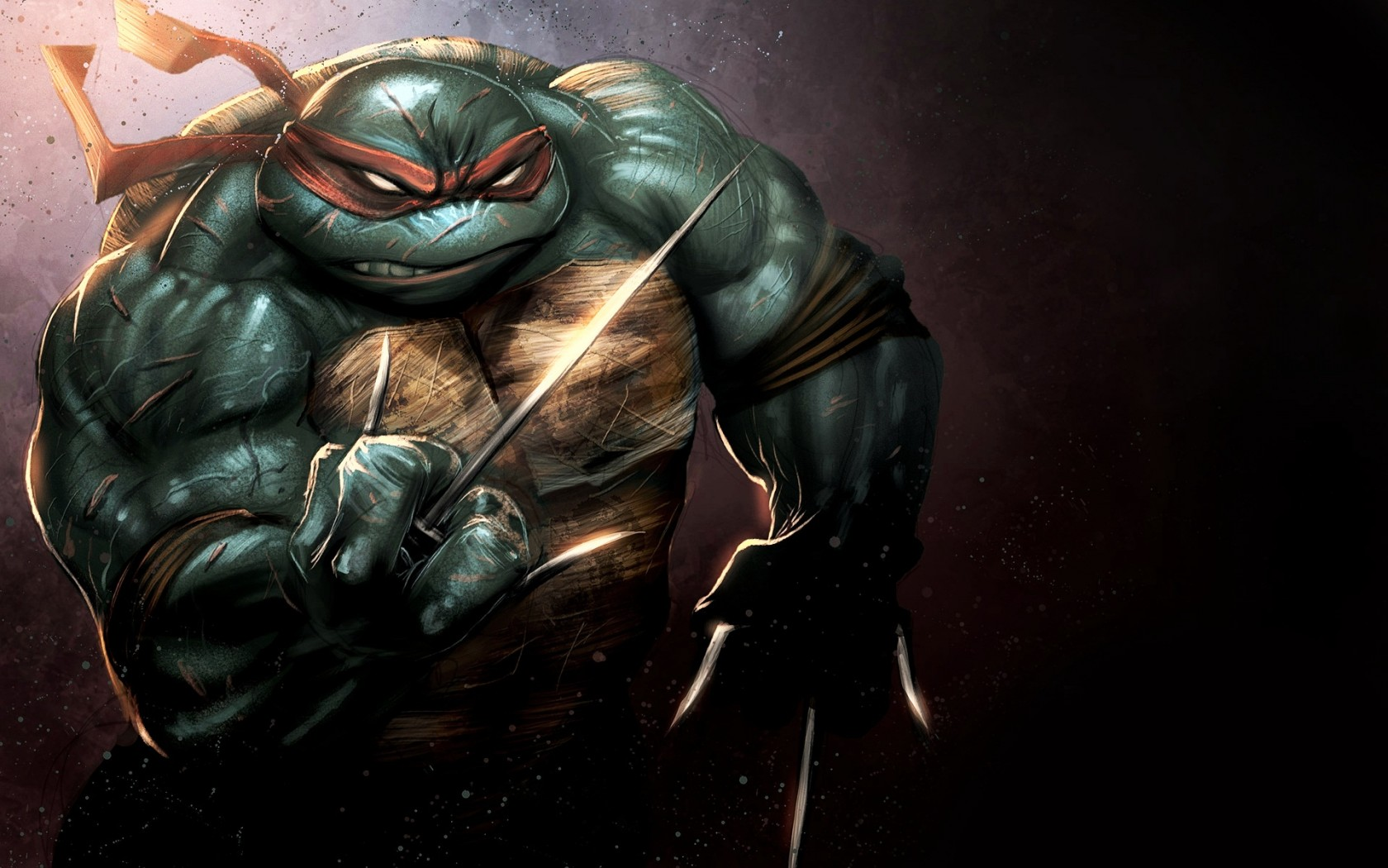 Cute Wallpaper 1366x768 Raphael Teenage Mutant Ninja Turtles Wallpapers Hd
