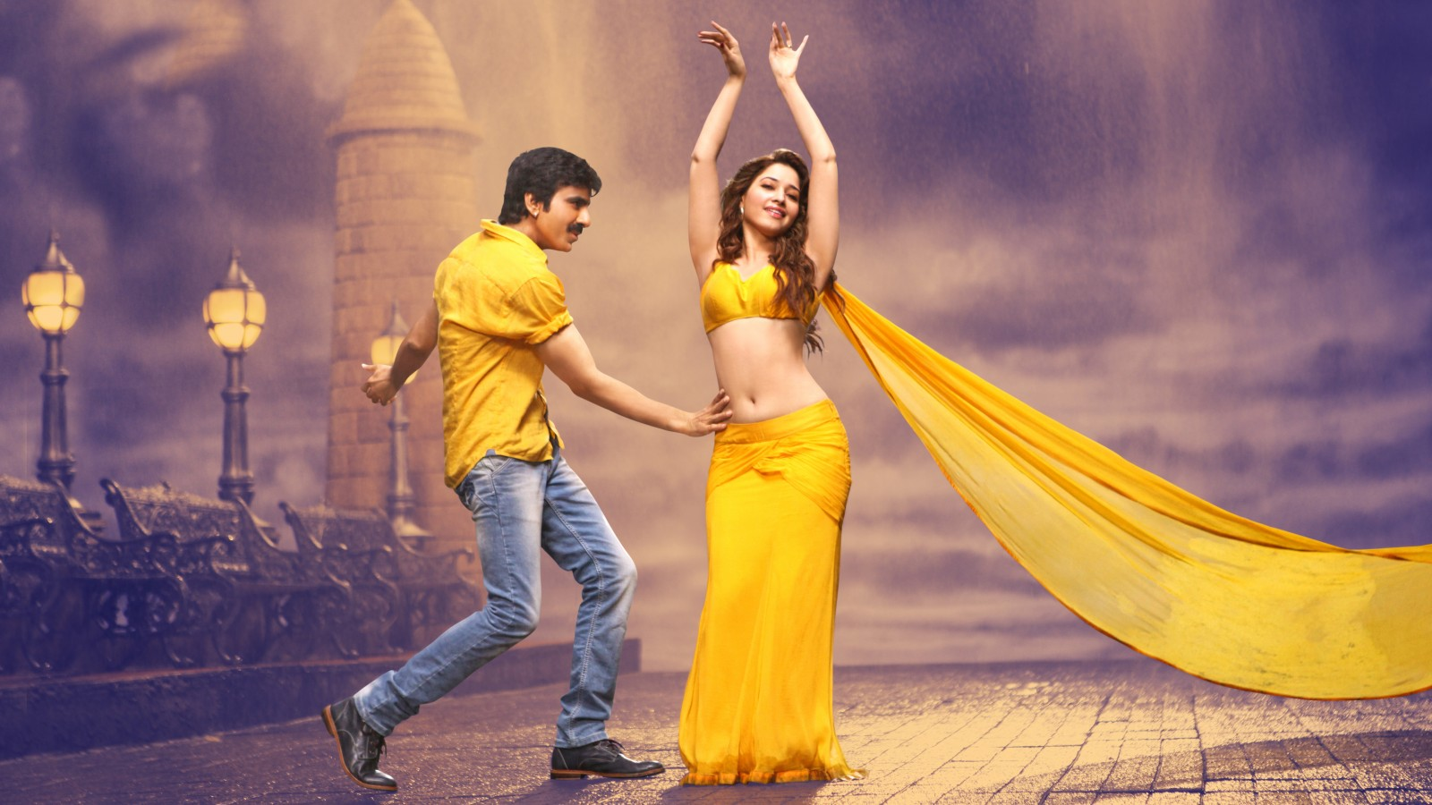 3d Dil Wallpaper Ravi Teja Tamanna Bengal Tiger Wallpapers Hd Wallpapers