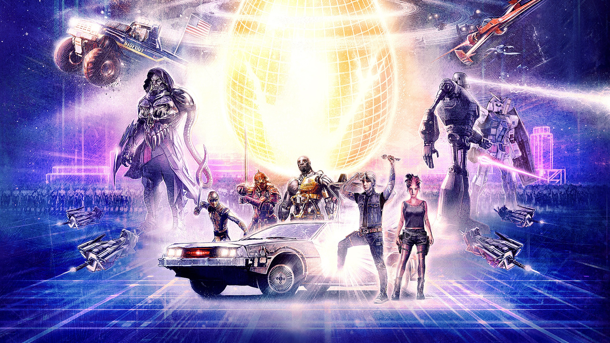 2 Monitor Wallpaper Hd Ready Player One Artwork 2 Wallpapers Hd Wallpapers Id