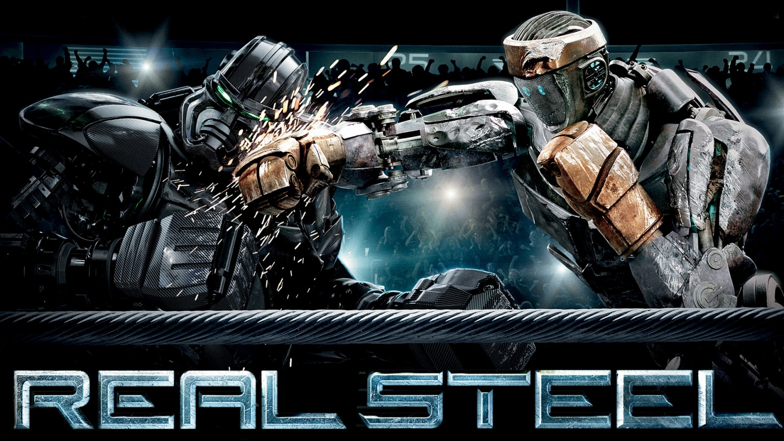 Iphone 5 Space Wallpaper Hd Real Steel Battle Wallpapers Hd Wallpapers Id 10393
