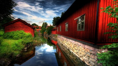 Red Village Wallpapers | HD Wallpapers | ID #500