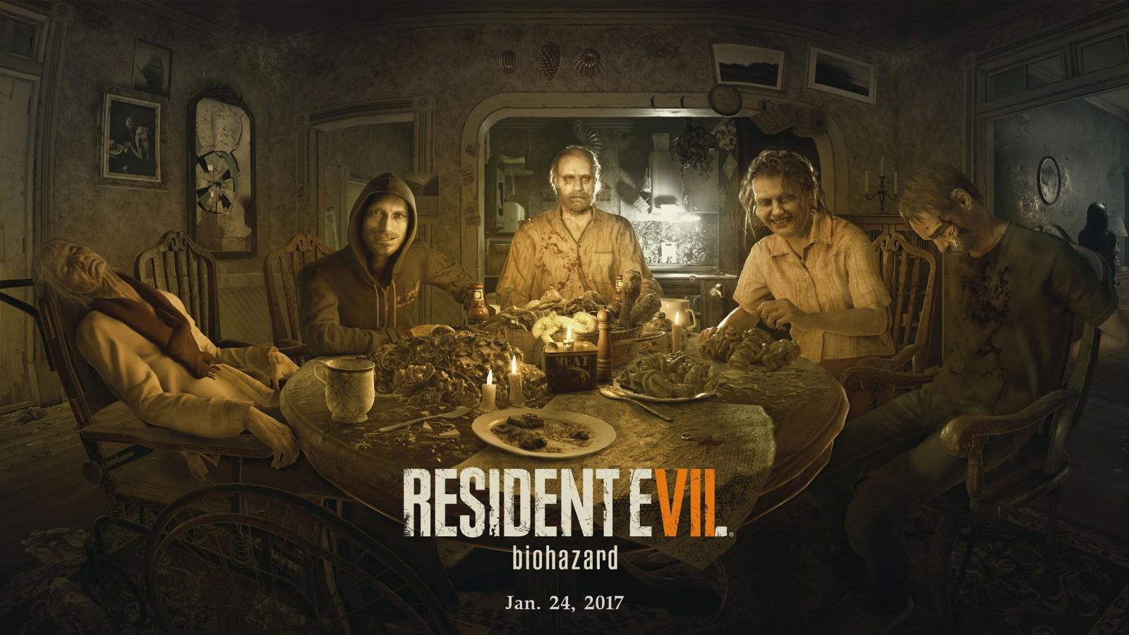 Biohazard Wallpaper 3d Resident Evil 7 Biohazard 2017 Game Wallpapers Hd