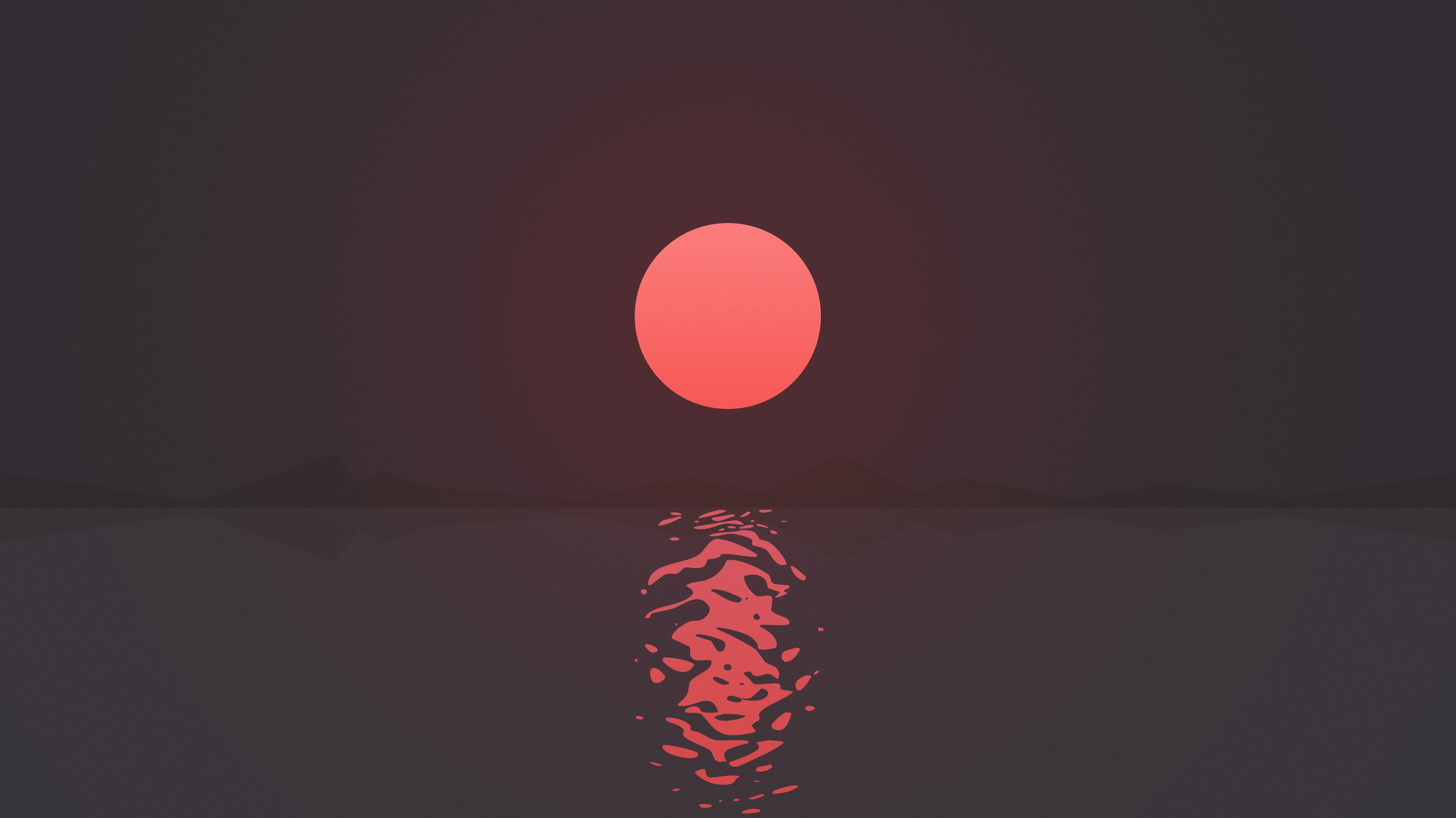Hd Supreme Wallpaper Iphone X Ripple Sunset 4k Wallpapers Hd Wallpapers Id 17663