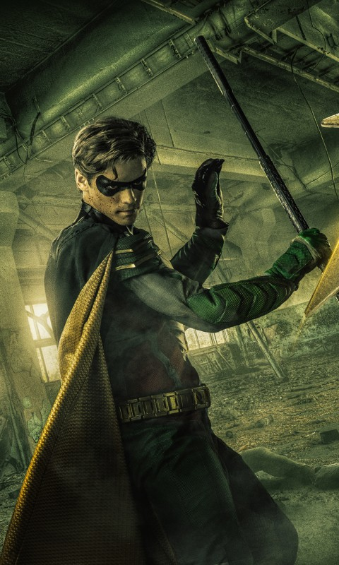 Titans Wallpaper Iphone Robin In Titans 2018 Tv Series 4k Wallpapers Hd