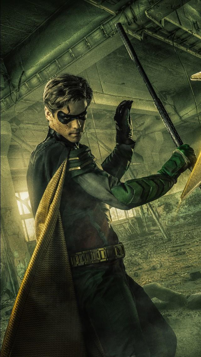 Superhero Hd Wallpapers Iphone Robin In Titans 2018 Tv Series 4k Wallpapers Hd