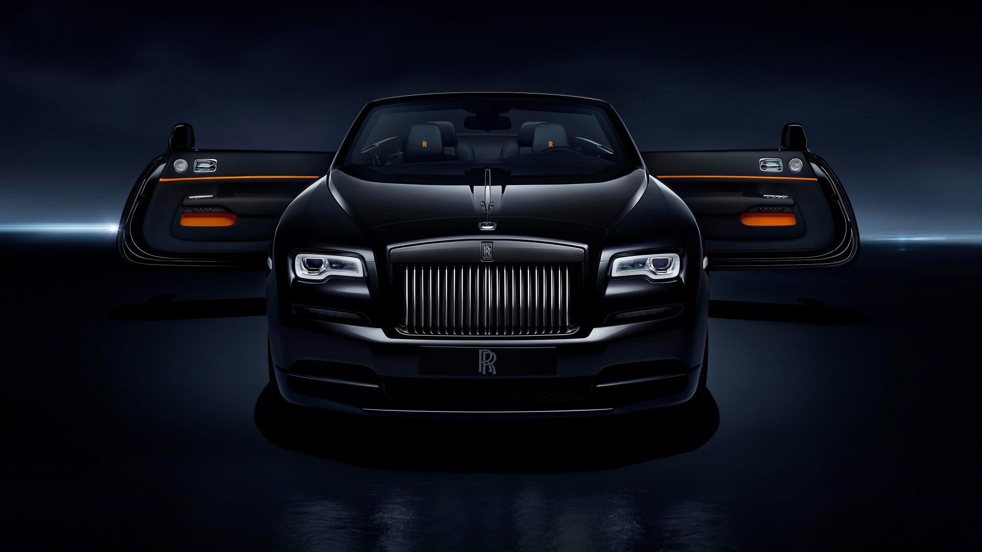 Pure Black Wallpaper Rolls Royce Dawn Black Badge 2017 4k Wallpapers Hd