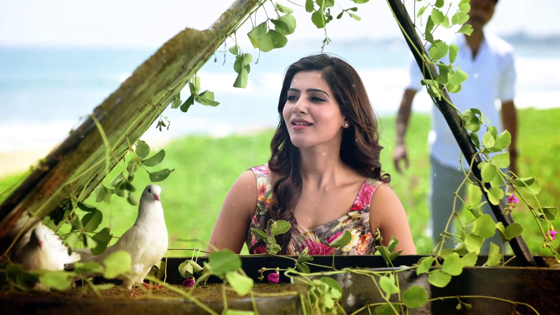 Cute Baby Ultra Hd Wallpapers Samantha In Theri Wallpapers Hd Wallpapers Id 17525