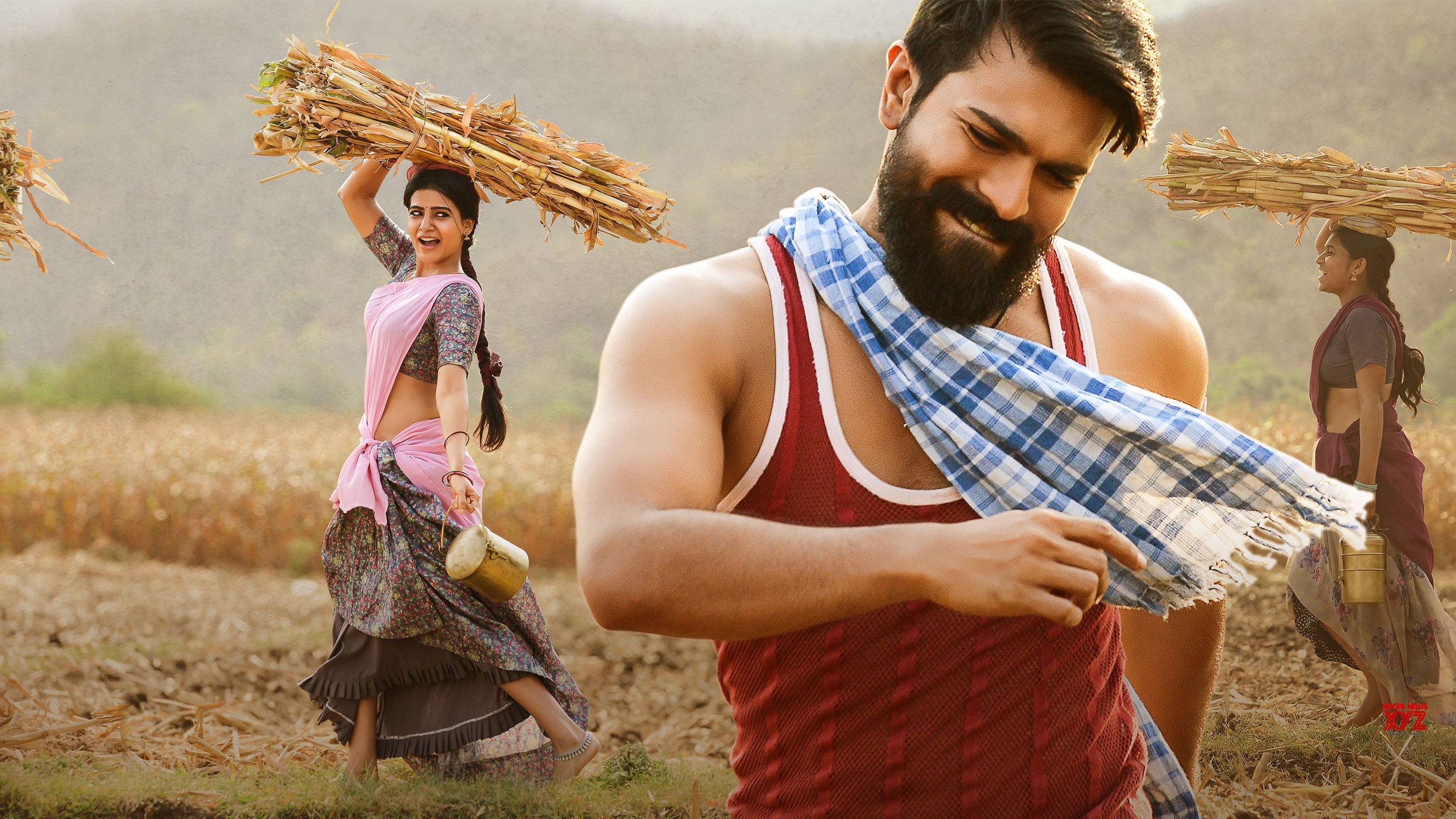 3d Wallpaper Of Cars Download Samantha Ram Charan In Rangasthalam Wallpapers Hd