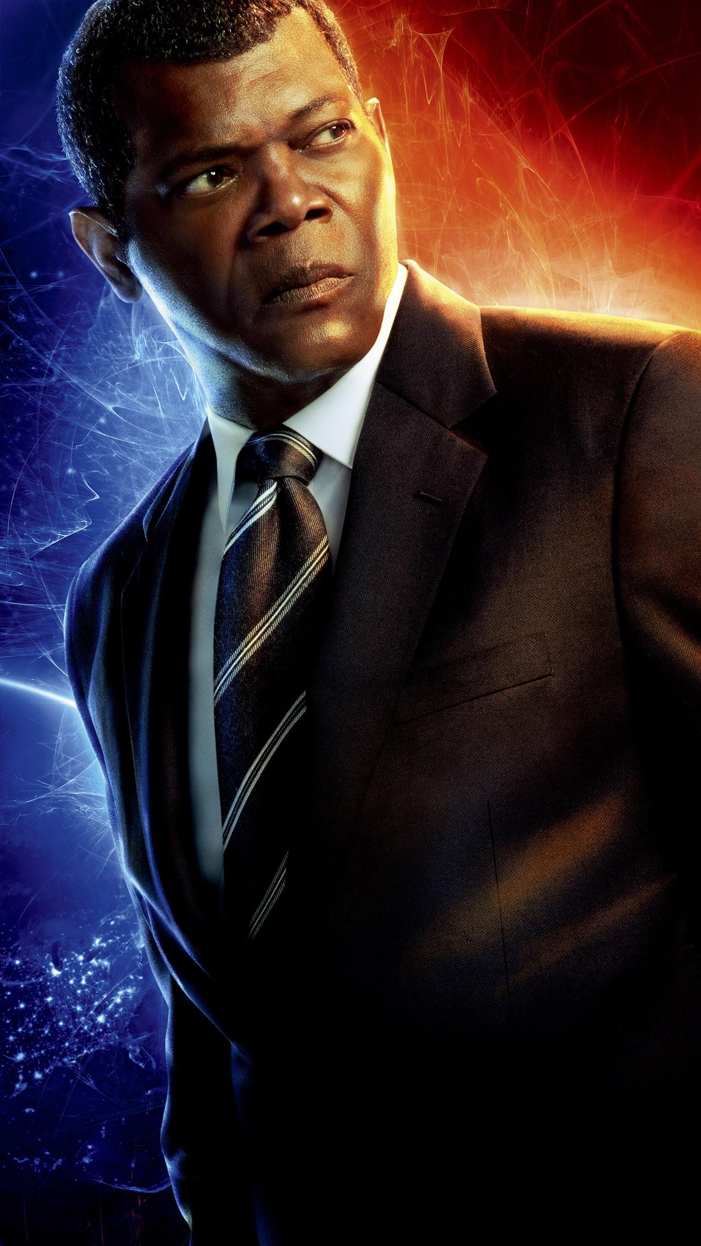 Iphone 6s Video Wallpaper Samuel Jackson As Nick Fury In Captain Marvel 4k 5k