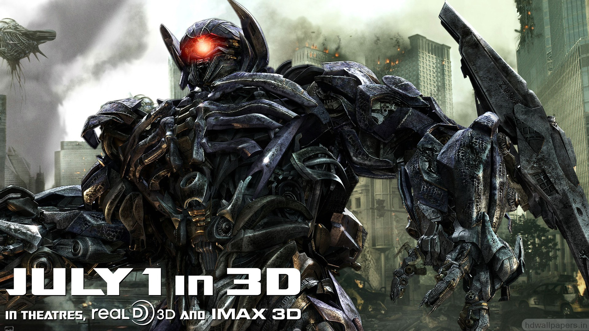 Transformers Wallpaper Hd For Android Shockwave In Transformers 3 Wallpapers Hd Wallpapers