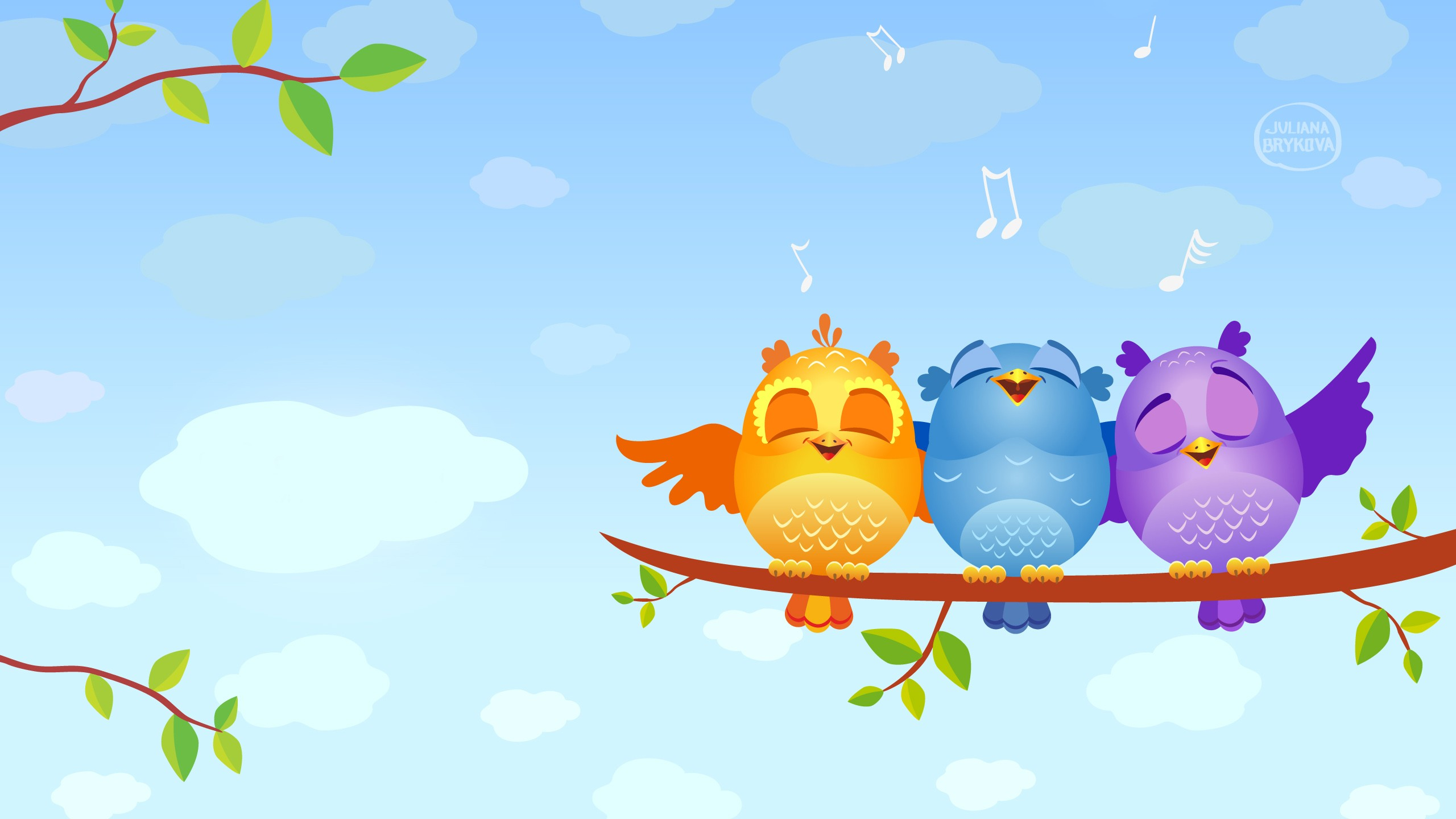 Wallpapers 1600x900 Cars Singing Birds Wallpapers Hd Wallpapers Id 12624