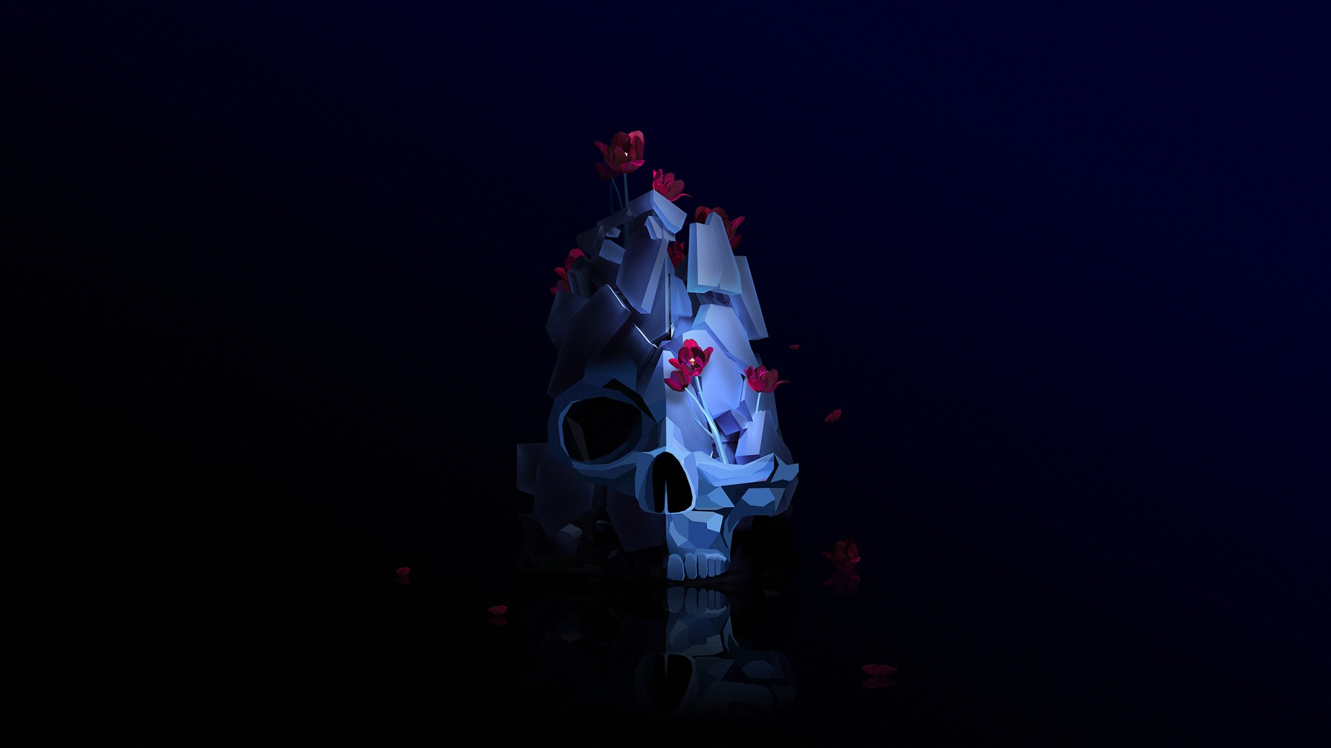 3d Windows Logo Wallpaper Skull Artwork Wallpapers Hd Wallpapers Id 23362
