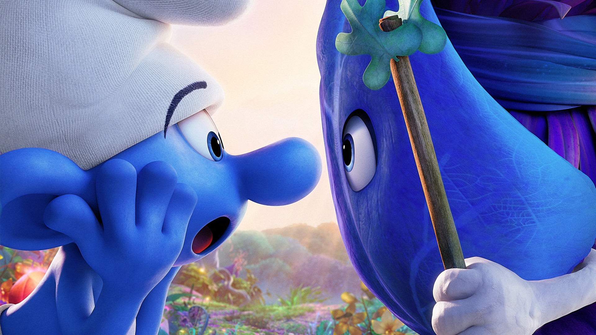 Smurf Wallpaper 3d Smurfs The Lost Village Hefty Smurf Wallpapers Hd