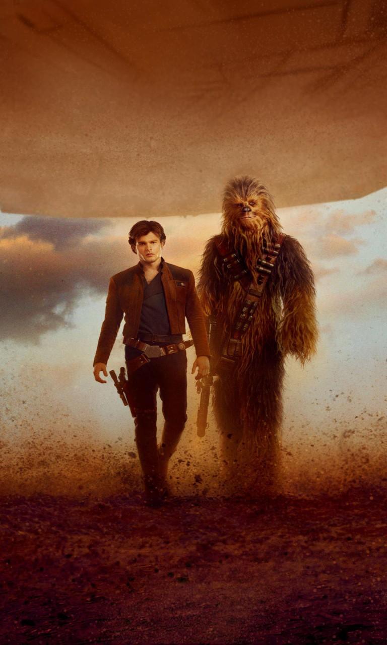 Wallpaper Hd Star Wars Solo A Star Wars Story Han Solo Chewbacca Wallpapers Hd