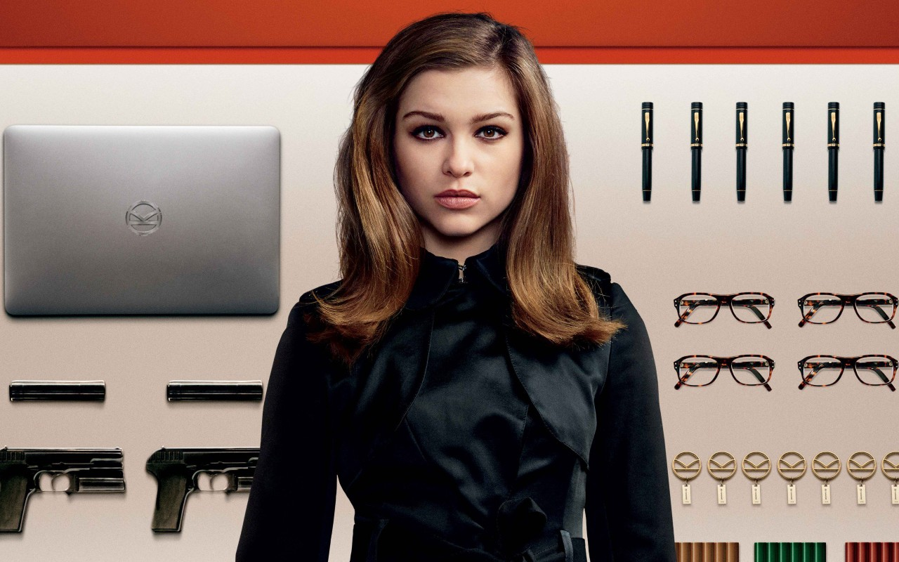 Roxy Wallpaper Iphone Sophie Cookson As Roxy Kingsman The Golden Circle