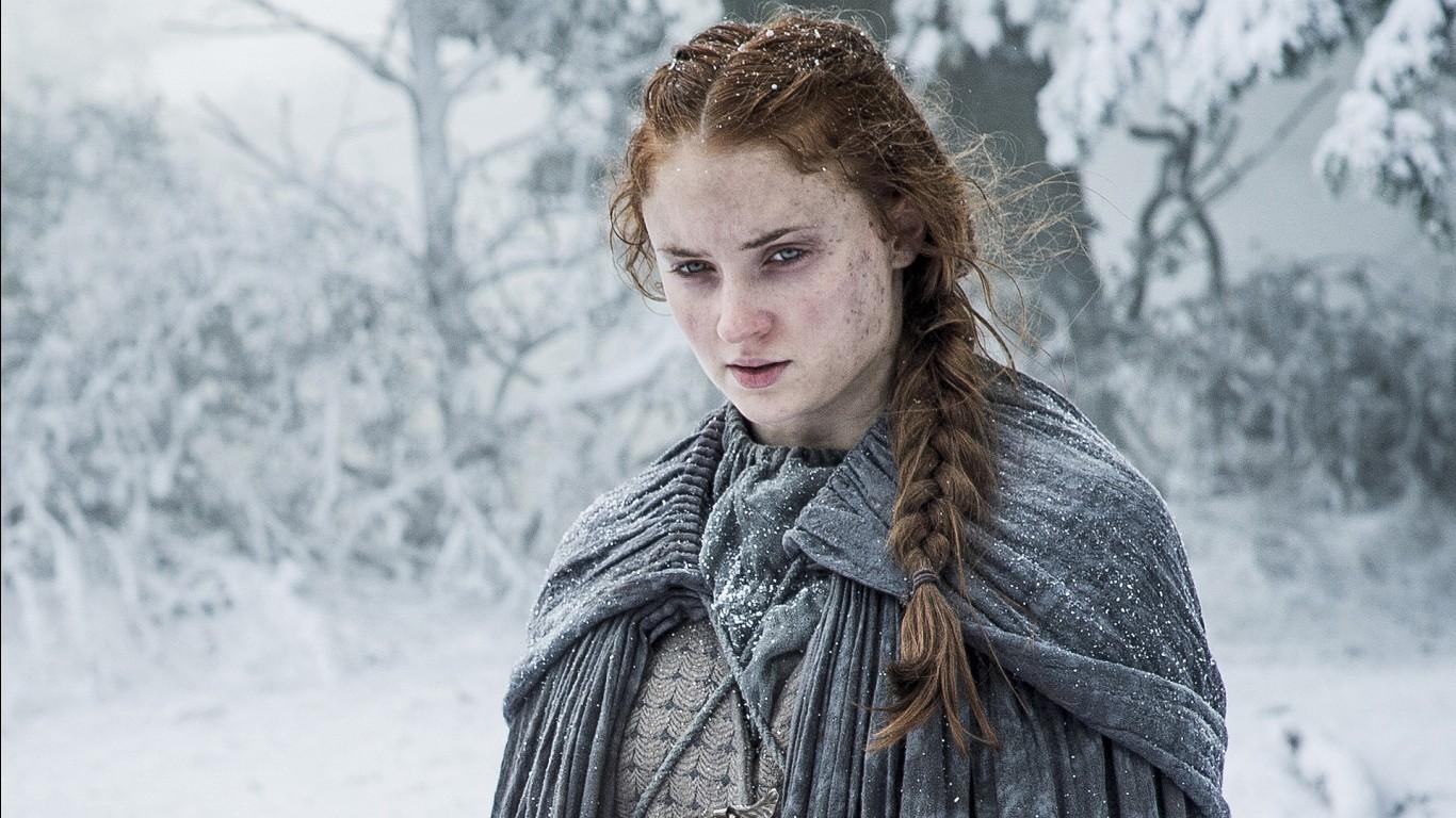 Game Of Thrones Iphone X Wallpaper Sophie Turner Sansa Stark Game Of Thrones Season 6