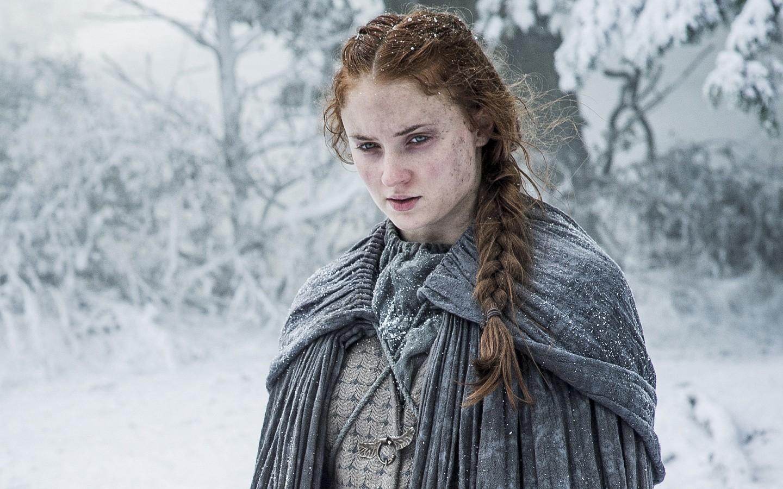 3d Wallpaper For Ipad 4 Sophie Turner Sansa Stark Game Of Thrones Season 6