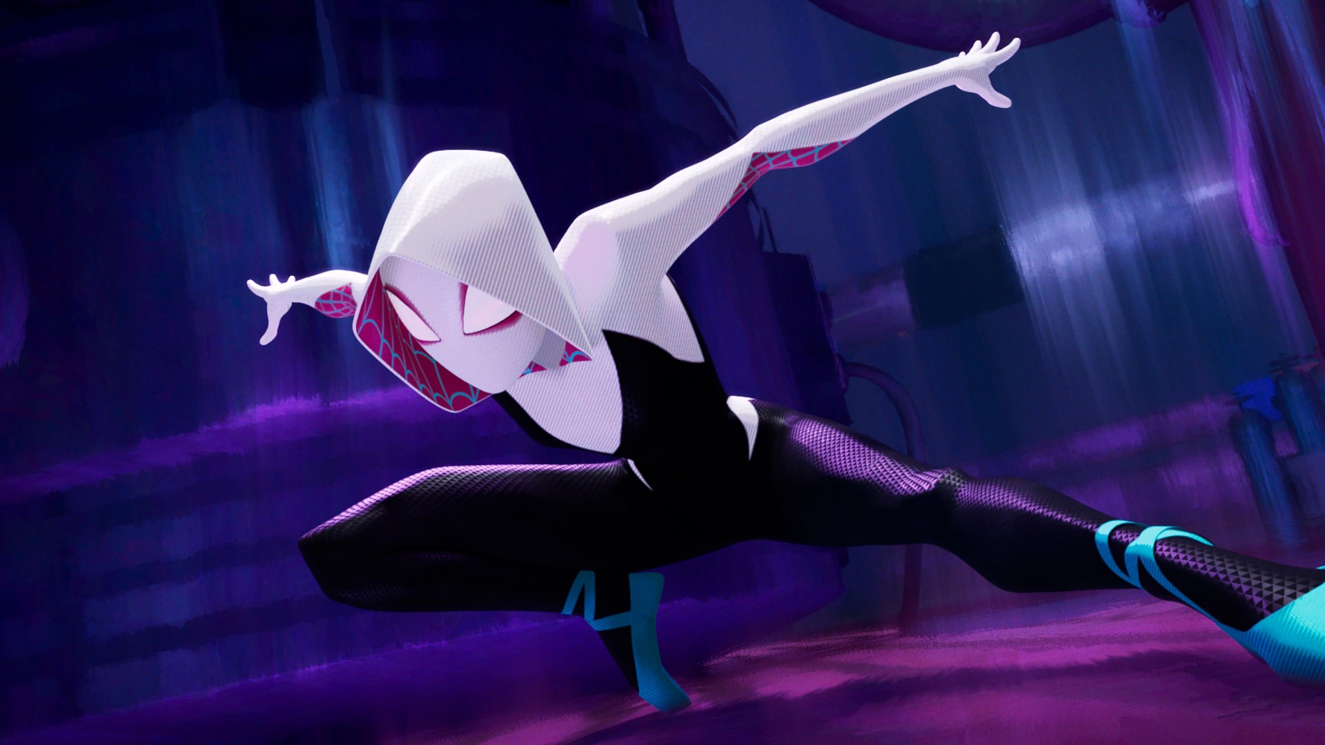 Live Pc Girl Wallpapers Spider Gwen In Spider Man Into The Spider Verse 4k