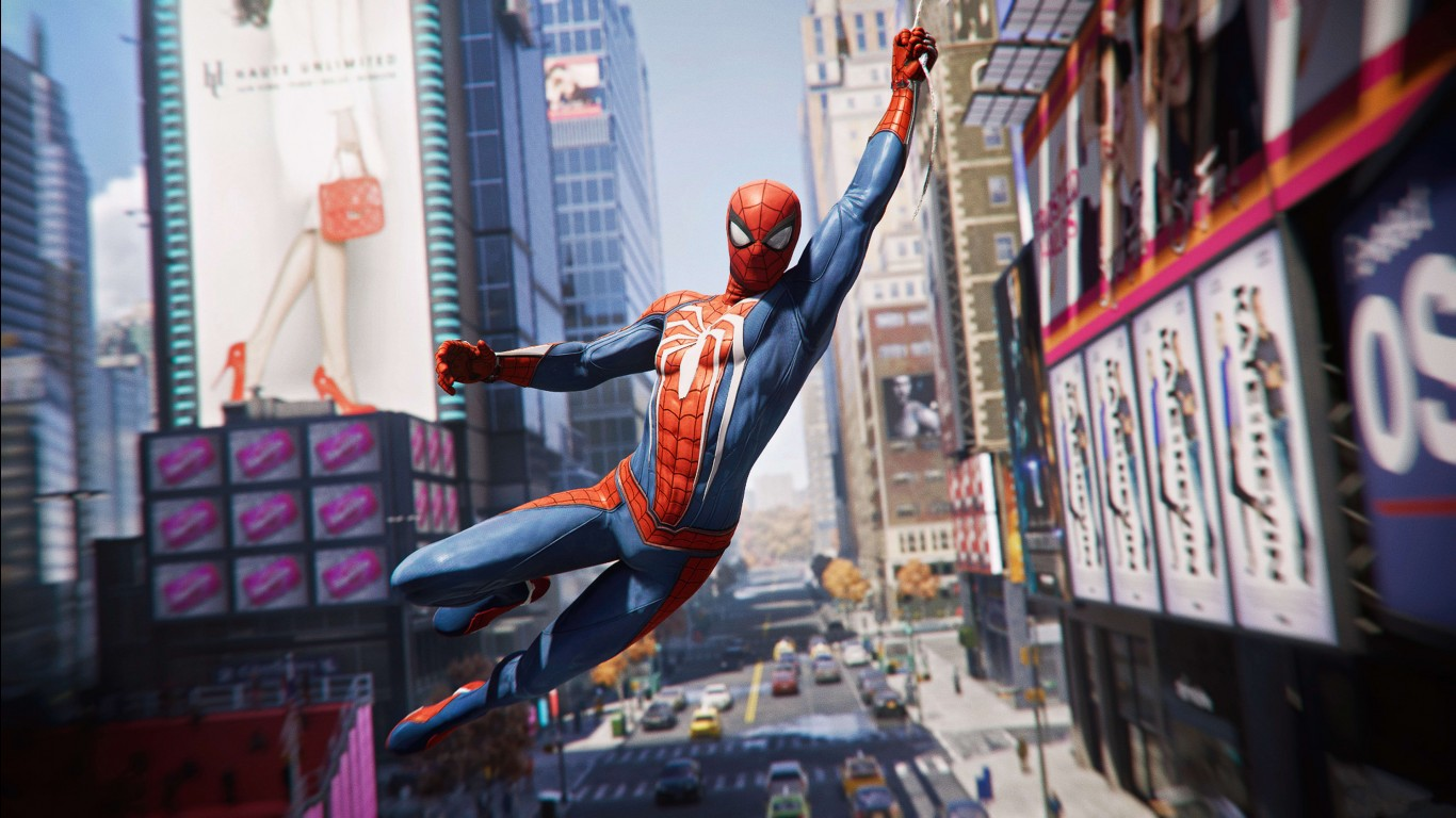 Wallpaper 3d Iphone 6 Spider Man 2018 Game 4k Wallpapers Hd Wallpapers Id 23755