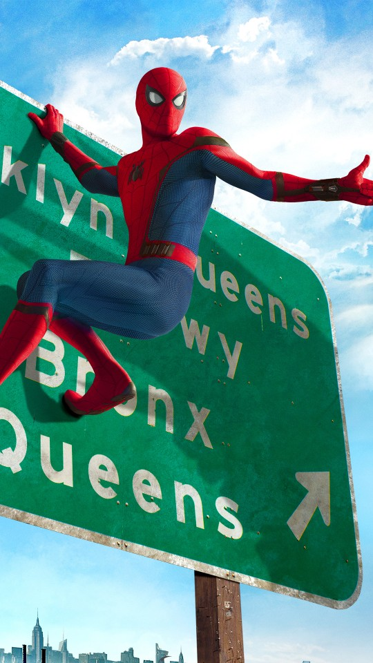 3d Wallpaper Iphone 7 Plus Spider Man Homecoming 2017 Wallpapers Hd Wallpapers Id