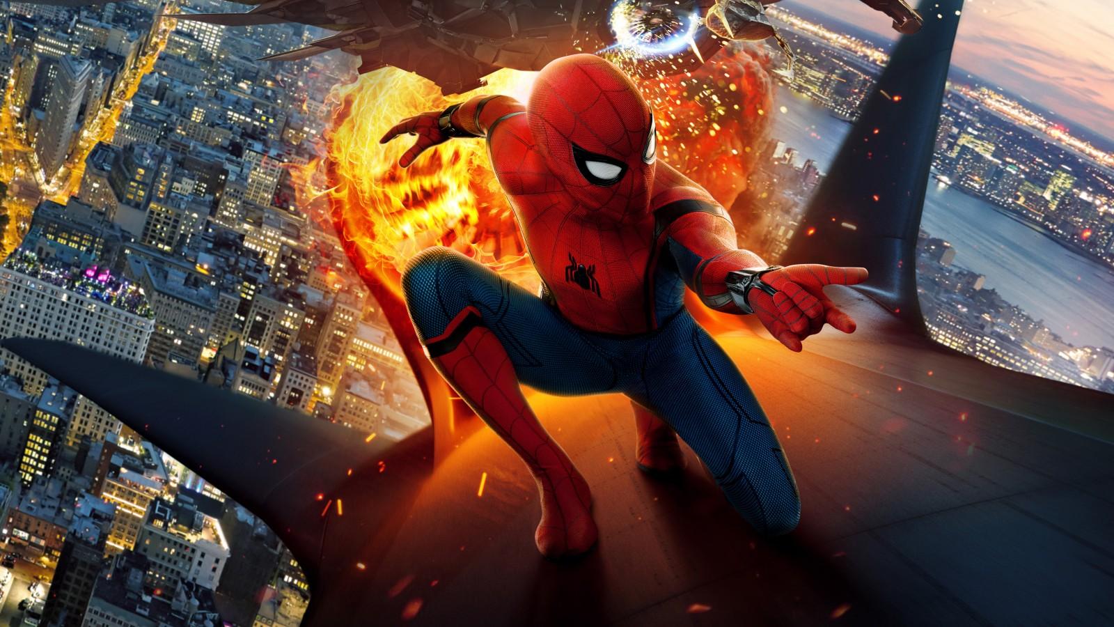 3d Desktop Wallpaper For Windows 7 Spider Man Homecoming 4k Hd Wallpapers Hd Wallpapers