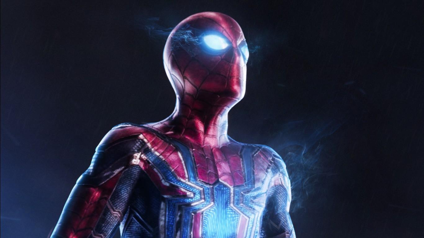 Spider Man Infinity War Iphone X Wallpaper Spider Man Infinity War