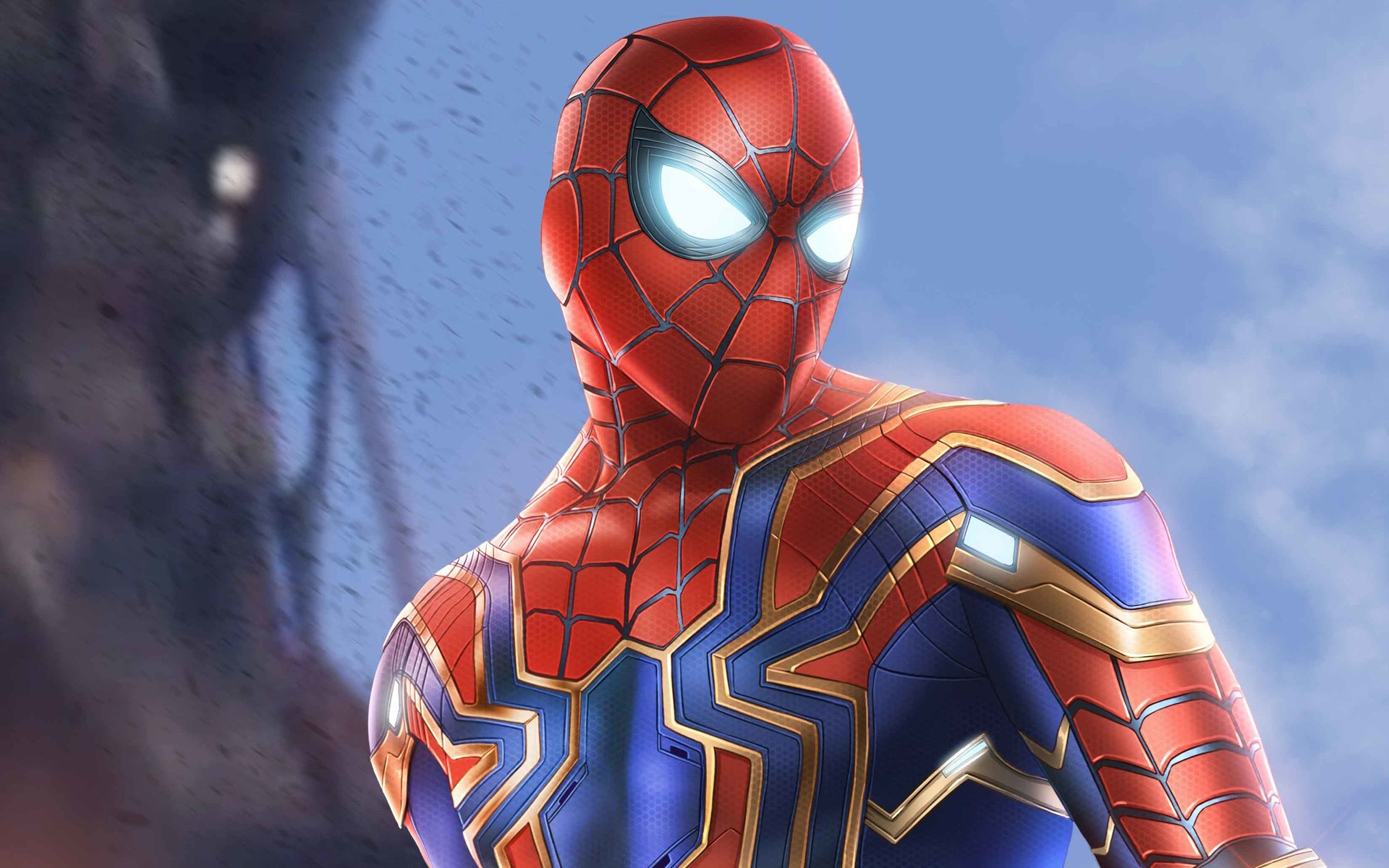 Iphone 5s Wallpaper Anime Spider Man Infinity War Armor Wallpapers Hd Wallpapers