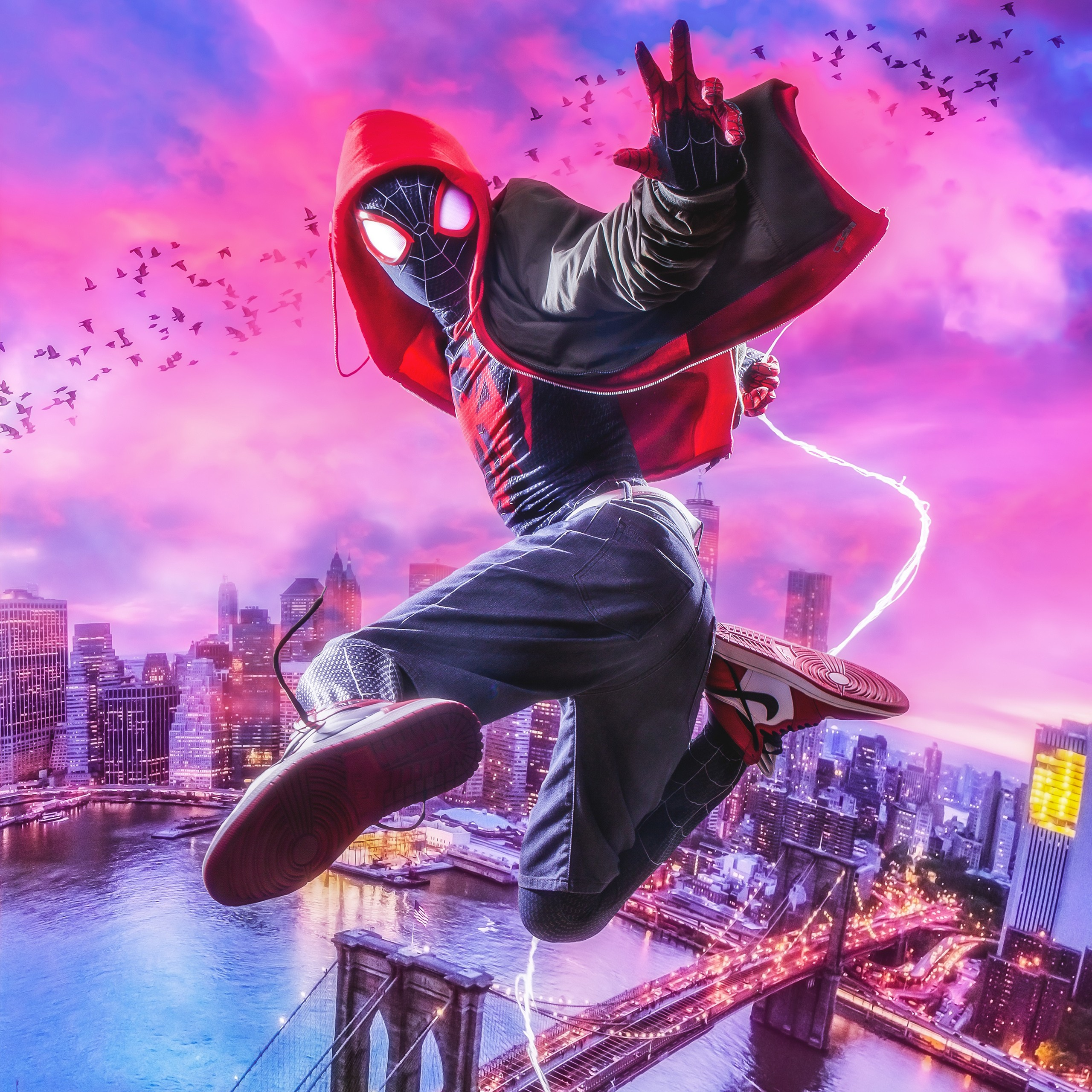 Spiderman Wallpaper Hd Android Spider Man Into The Spider Verse 4k Wallpapers Hd