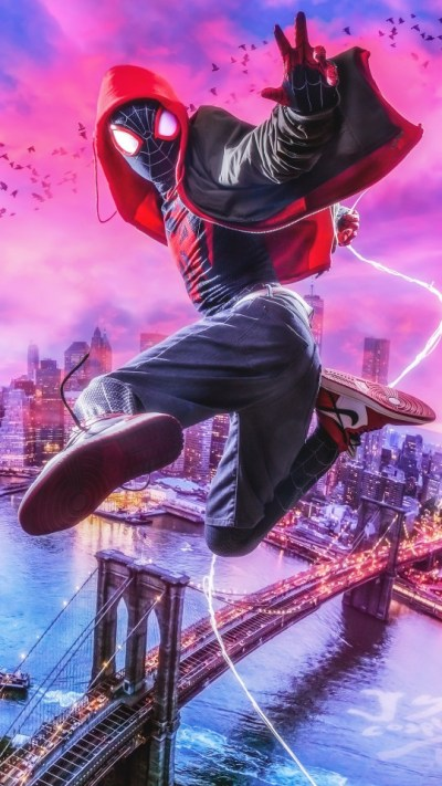 Spider-Man Into the Spider-Verse 4K Wallpapers | HD Wallpapers | ID #27084