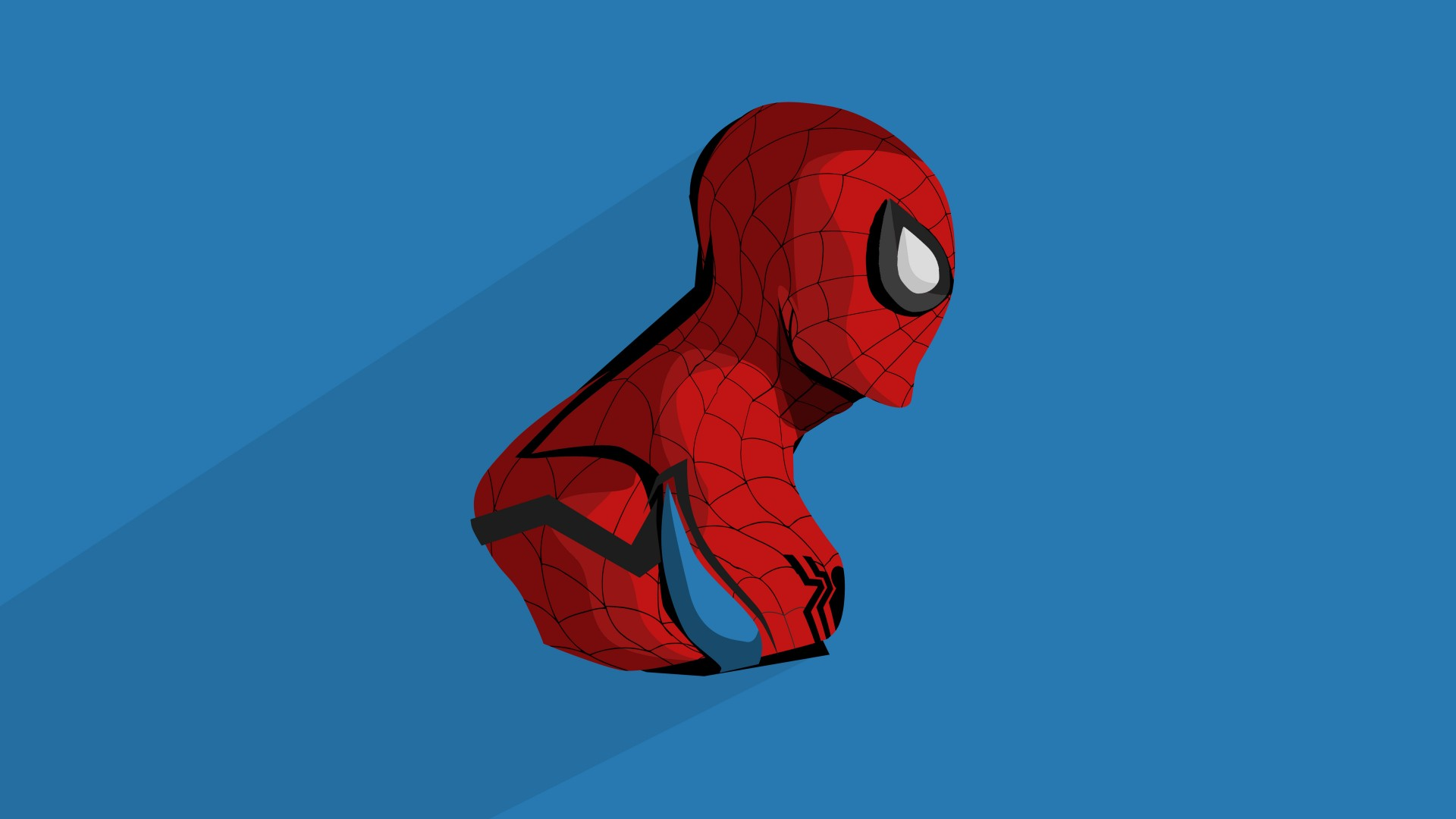 Minimalist Cute Desktop Wallpaper Spider Man Minimal Artwork 4k Wallpapers Hd Wallpapers