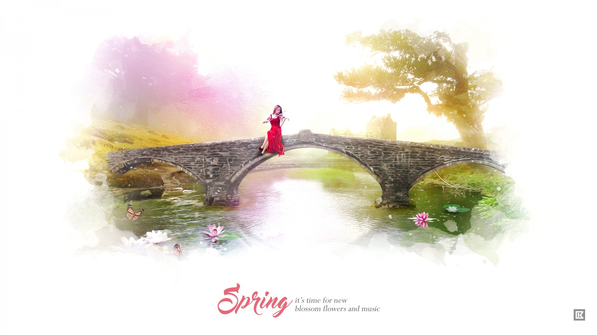 Die Wallpaper With Quotes Spring Blossom Flowers Music Wallpapers Hd Wallpapers