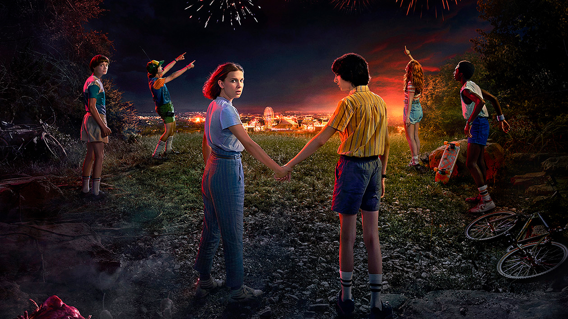 Iphone 5s Wallpaper Anime Stranger Things 3 2019 Wallpapers Hd Wallpapers Id 27177