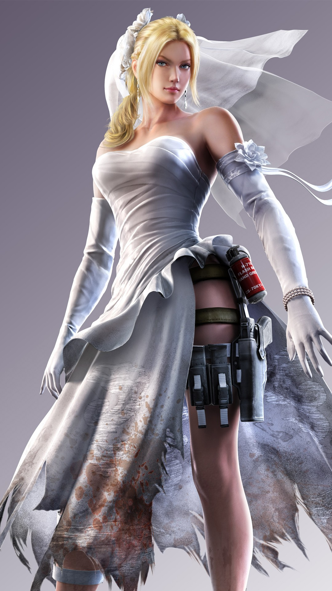 Girl Wallpaper For Iphone 4 Street Fighter X Tekken Nina Williams Wallpapers Hd