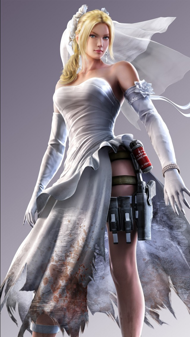 Girly Wallpaper Iphone X Street Fighter X Tekken Nina Williams Wallpapers Hd