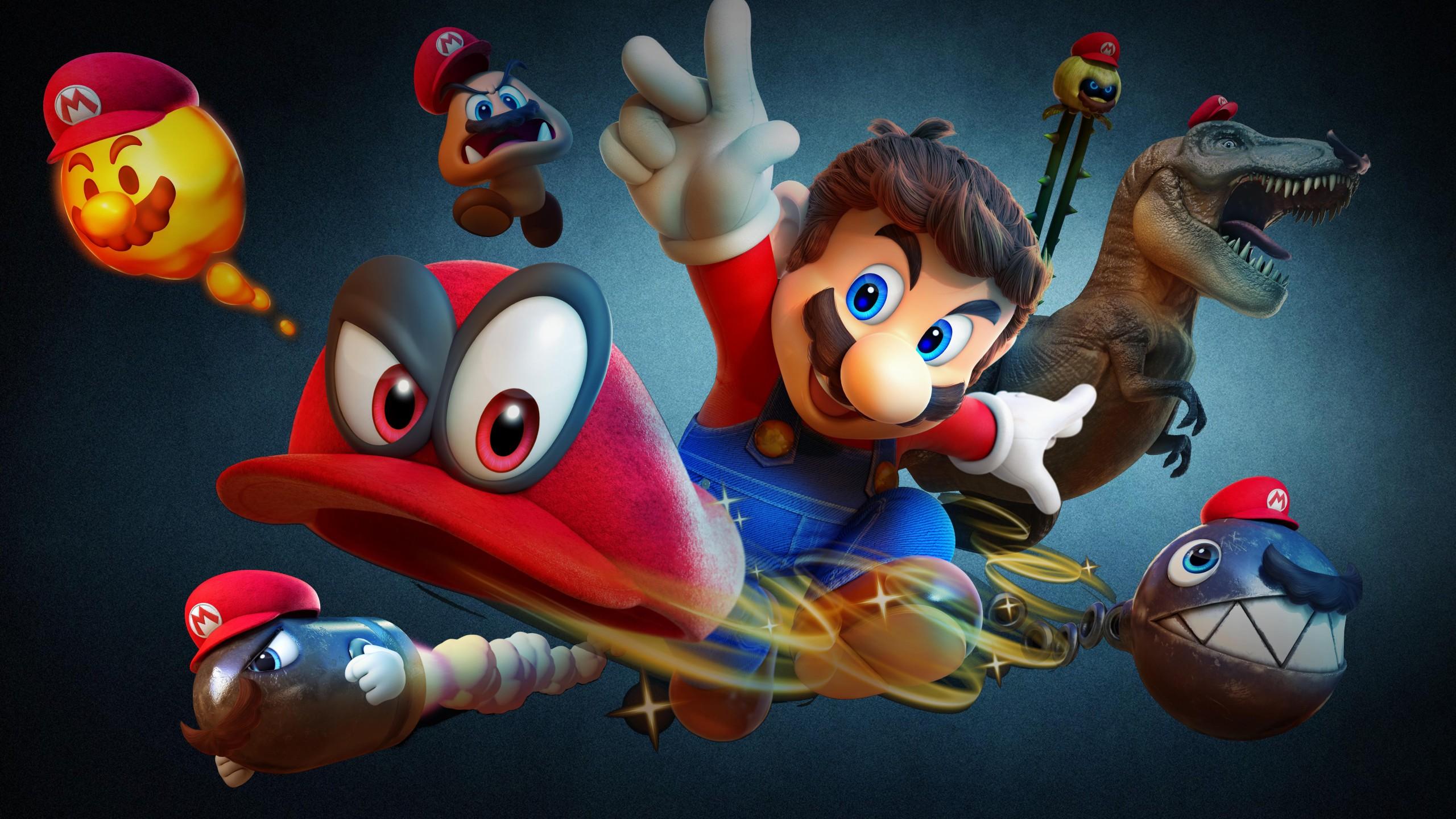 Diablo Hd Wallpaper Super Mario Odyssey 4k 8k Wallpapers Hd Wallpapers Id