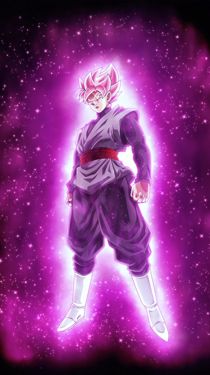 Black Wallpaper Iphone 6 Super Saiyan Ros 233 Black Goku Dragon Ball Super 4k
