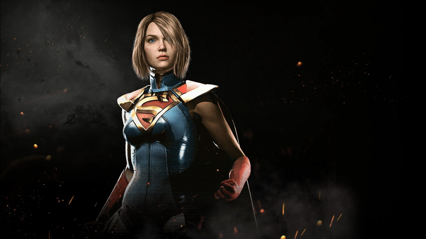Nature Hd 3d Wallpapers 1080p Widescreen Supergirl In Injustice 2 Wallpapers Hd Wallpapers Id
