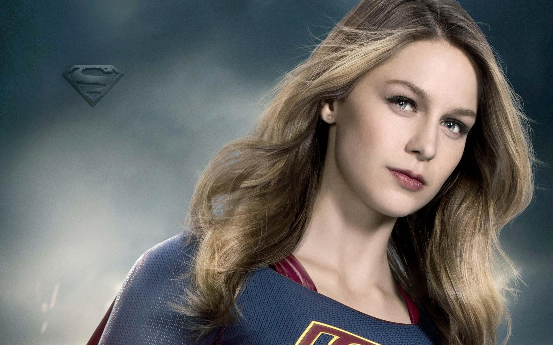Wallpaper Wide Hd Girl Supergirl Melissa Benoist Season 2 Wallpapers Hd