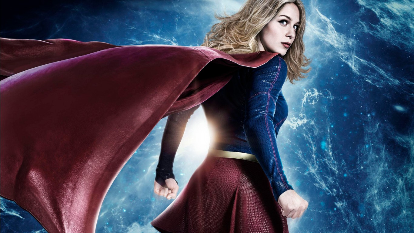 Snow Wallpaper Iphone 5 Supergirl Season 3 Wallpapers Hd Wallpapers Id 20370