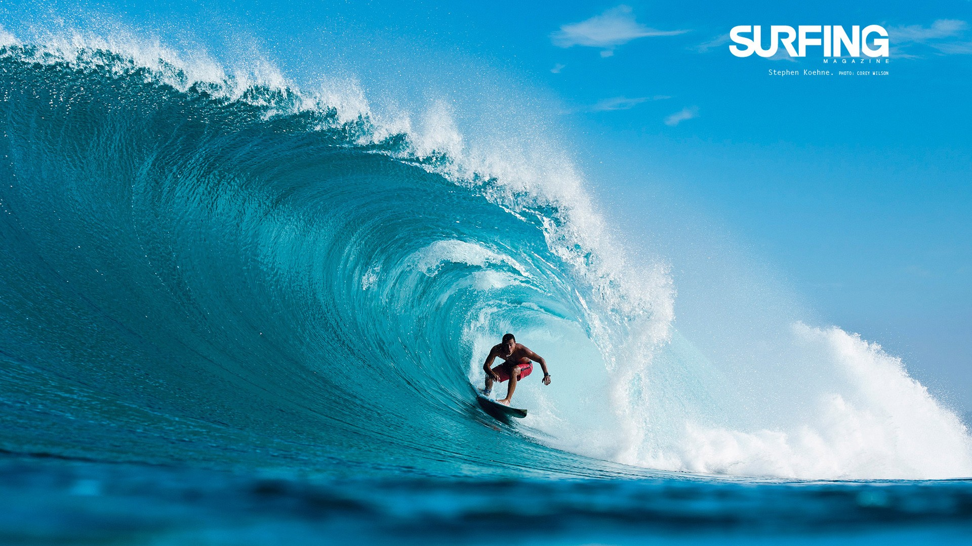 Wallpaper  Full Hd Surfing In Teahupoo Tahiti Wallpapers Hd Wallpapers Id
